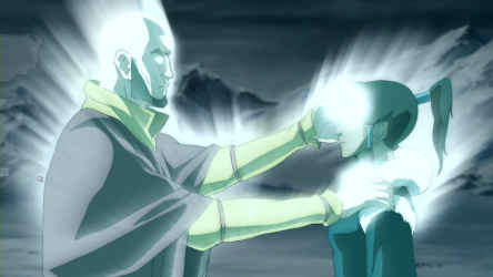 Avatar Aang: dead and still more capable than Korra.