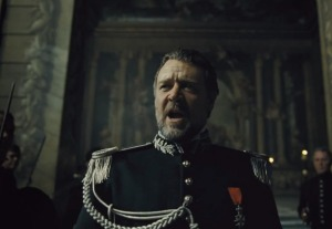 Javert is comfortable when secluded with the law. In his palace of police, there is no outside world presence.