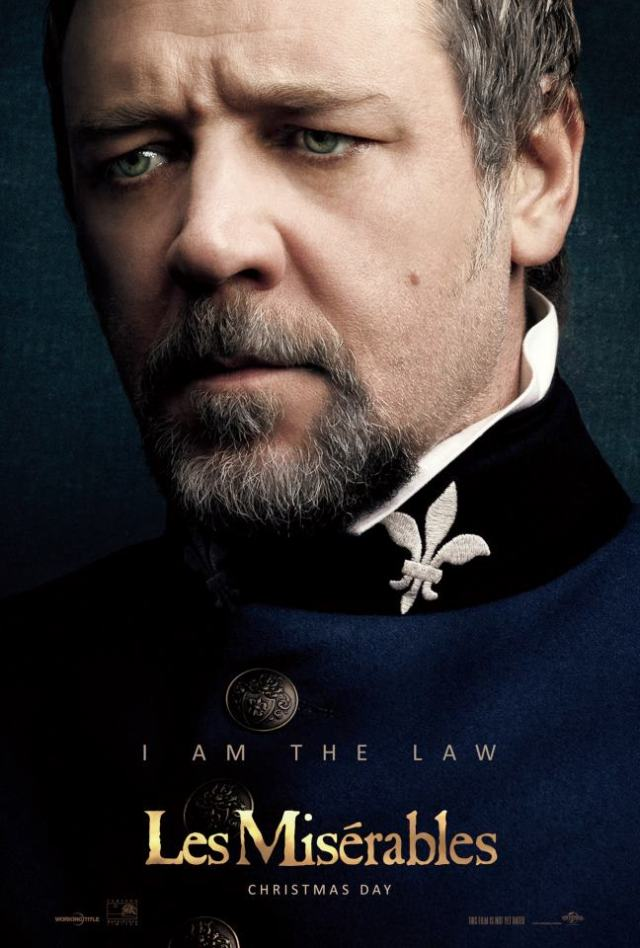 In Defense Of Russell Crowe S Javert The Red Rings Of Redemption