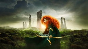 As a huge fan of Celtic folklore, I was originally estatic to hear that Pixar was creating a film called The Bear and the Bow (Brave's working title).