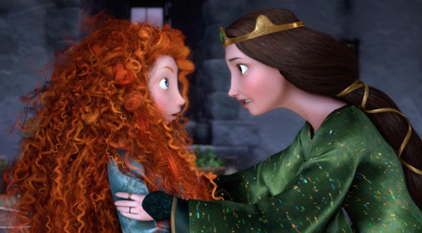 """""""Merida, please listen. It's the Dar Ages, we will go to war if you don't do this. Haven't you seen Game of Thrones?"""