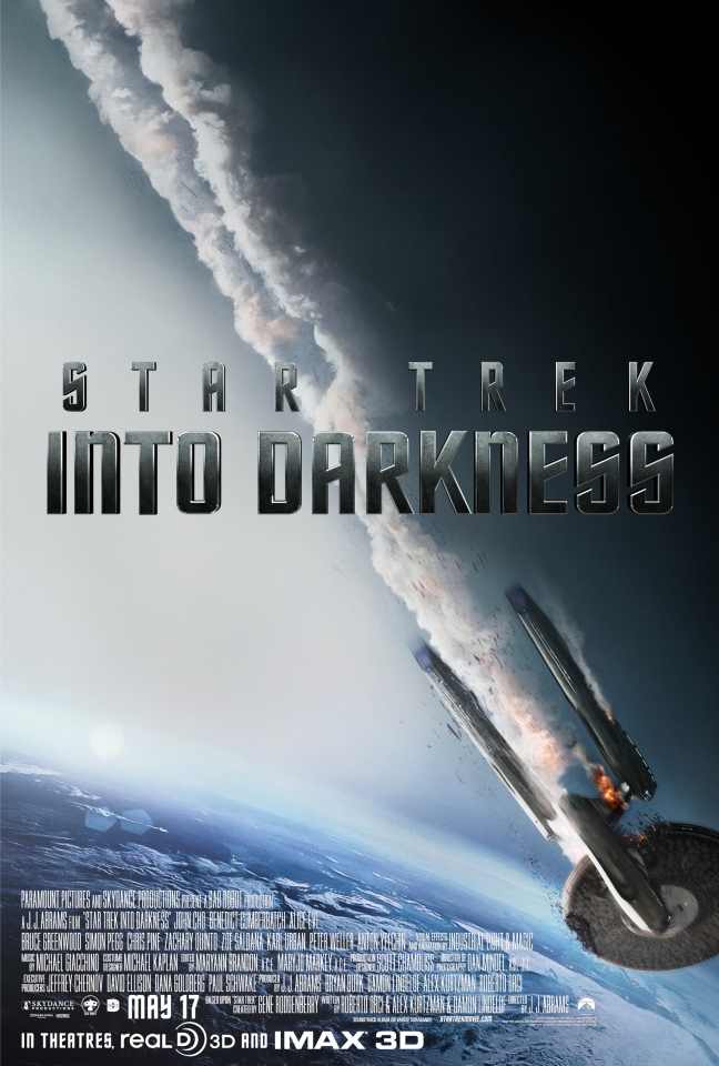 Star Trek Into Darkness opens everywhere today. Do yourself a favor and see it soon as the spoilers are soon to become the internet's new favorite occupation.