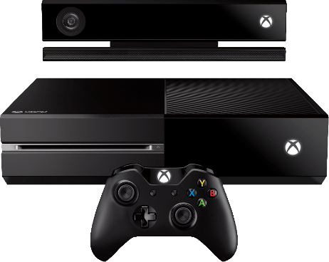 The brand new system pictured above. The new Kinect on top, then the console itself and finally the new controller design.