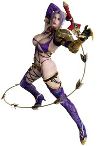 One of Ivy's costumes in Soul Calibur IV.