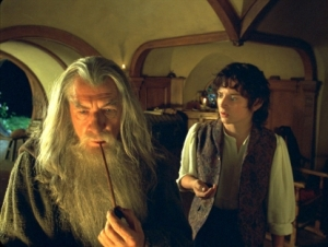 Both films then have a hobbit who is shaken out of his normal life by an unexpected visit from Gandalf.