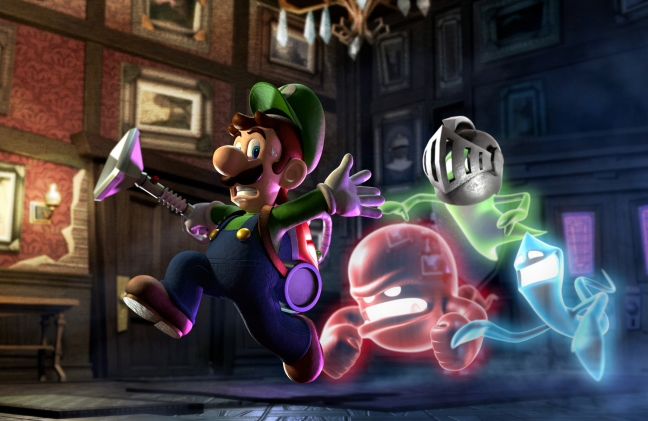 Pictures like this really make me want to see a fully HD Luigi's Mansion 2 for the Nintendo Wii U.
