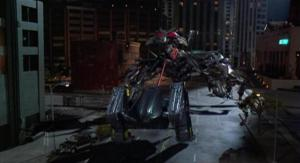 Always wanted to see a robot frog fight a robot scorpion. This movie came out two years after Jurassic Park btw.