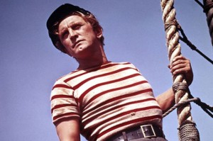 Kirk Douglas as Ned Land.