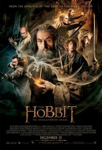 Fun fact: there is actually a hobbit on this poster!