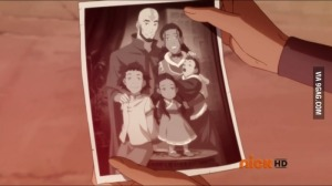 Poor relationships are actually a common theme in the season as it is revealed that Aang did not have the best relationship with his children.