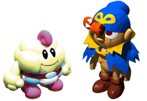 These two would make great Super Smash Bros. characters.