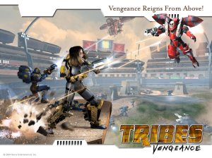 Irrational Games was also responsible for Tribes: Vengeance.