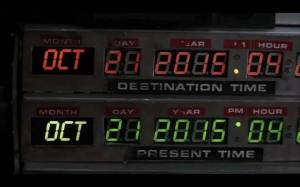 Two things Back to the Future Part II is remembered for: hoverboards and all the stupid Facebook posts claiming that this is the date that Marty Mcfly went to the future (above is the actual date).