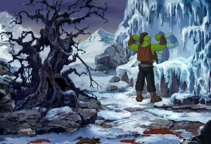 Man, the art design for Warcraft Adventures looked amazing.