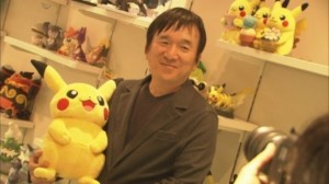 Tsunekazu Ishihara looks excited as the Year of Pikachu gets underway.