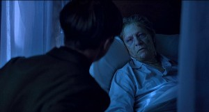 While Norman's scene introduces the danger of the disease, it does nothing to create a sense or urgency. He's not super old, but he's not young either. Really they just wanted a scene with Chris Cooper.
