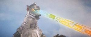 One of Mechagodzilla's many abilities.