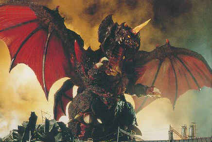 Destroyah is actually created as a result of the oxygen destroyer. This ties into the first film and reinforces the theme that devastating weapons create devastating monsters.