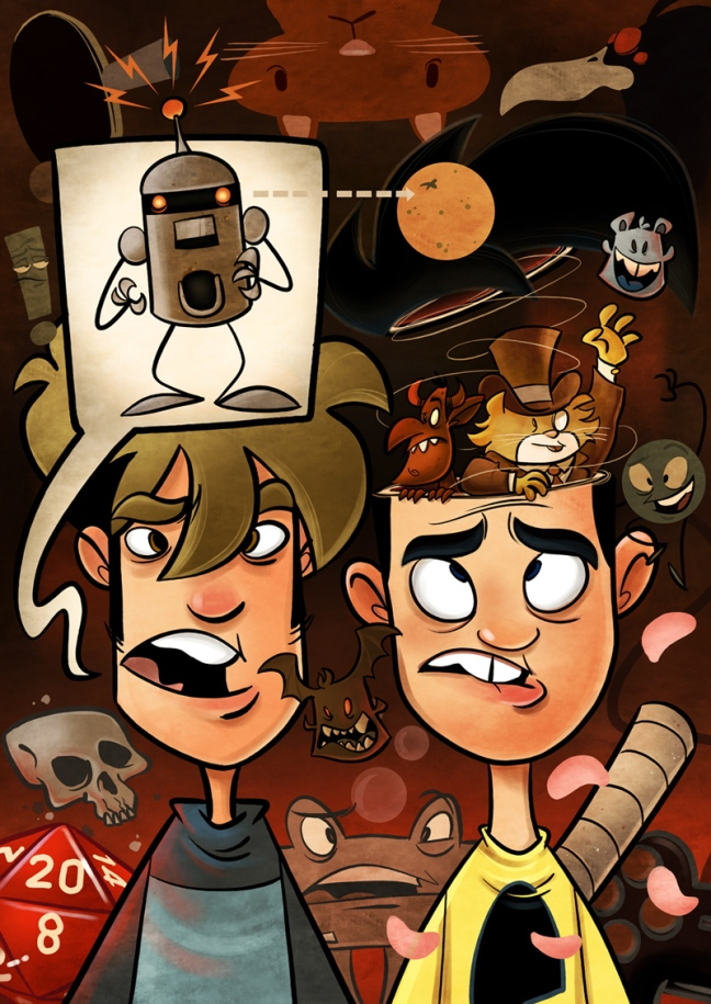 Regardless of how you feel about it, there is no denying that the art in Penny Arcade has benefited greatly from a lack of physical space restriction.
