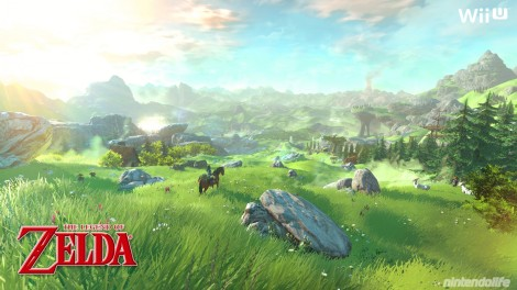 It does help when this is how the new Zelda game will look. No, really, this is confirmed to be in-engine graphics.