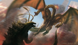 King Ghidorah has appeared as the main villain in seven Godzilla movies.
