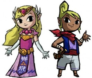 Zelda was much more active as Tetra, a pirate incarnation in the Legend of Zelda: Wind Waker.