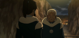 Katara hands off the primary responsibility to a new generation... before vowing to do nothing.
