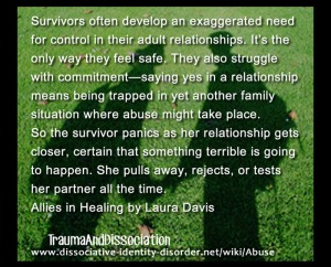 The fears of getting hurt again can become a double-edged sword. It is okay to feel pain, as long as it is not forced on to someone else.