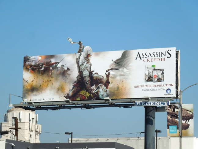 Hmmm, there is one console missing there. I wonder how come no one would buy it for Wii U, looking at this billboard?