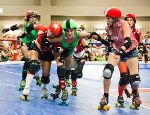 Why would lesbians want roller-derby flower girls more than anyone else?