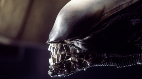 Close ups and shadow shots allowed the alien to remain largely unseen throughout most of the first movie. A great way to enhance the terror.
