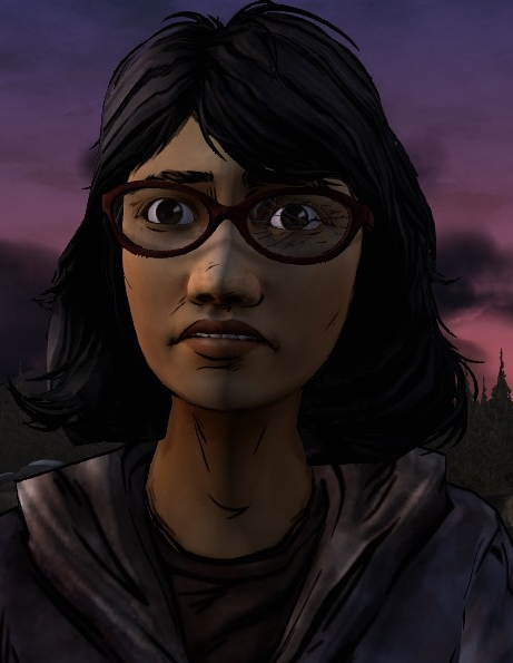 Sarah is a character used to contrast Clementine. At 15, she is considerably older, yet far less adult.