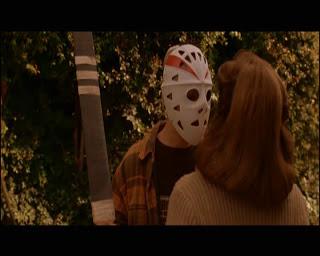 Joseph Gordon-Levitt wears a familiar looking hockey mask in his Halloween H2O cameo. I know what you're thinking: JOSEPH GORDON-LEVITT was in that movie - why??????