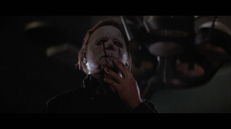 Michael Myer's mask was not the only thing to get bloodier in subsequent films.