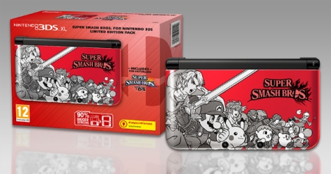 Nintendo just released an edition styled specifically for Smash Bros., despite the fact the game will look and run (and have faster internet) on the New 3DS.