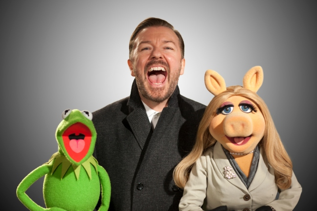 Ricky Gervais just can't bring 'em in like Jason Segel.