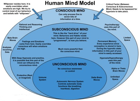 I'm not even going into the unconscious mind. It is simply important to be aware that even the simplest decision is not a simple one.
